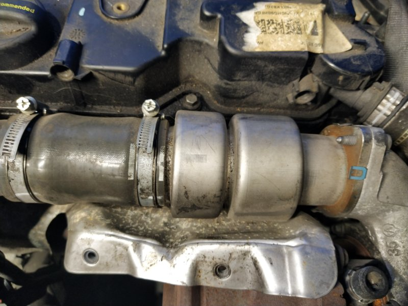 Патрубок интеркулера Ford Focus 3 (2011>) (б/у)
