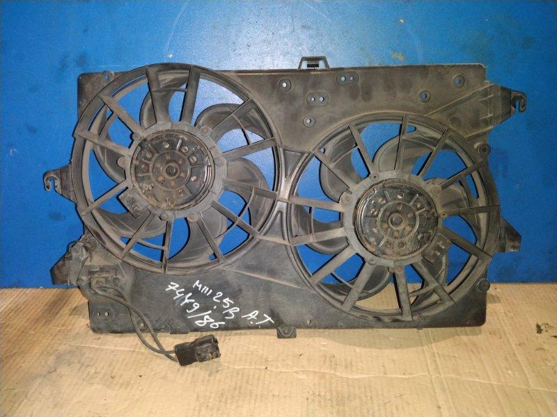 Вентилятор радиатора Ford Mondeo 3 (2000-2007) (б/у)