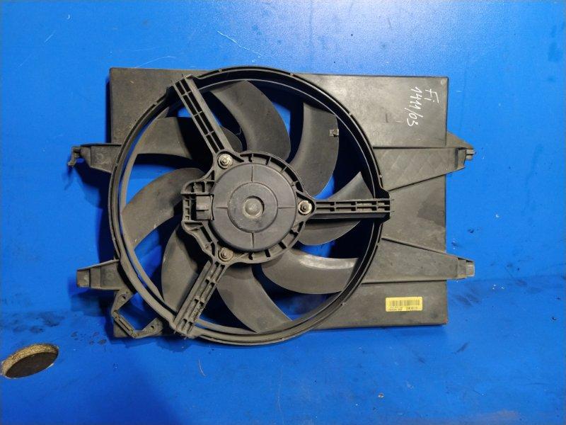 Вентилятор радиатора Ford Fiesta 2001-2008 (б/у)