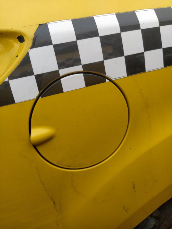 Лючок бензобака Ford Focus 3 (2011>) УНИВЕРСАЛ (б/у)