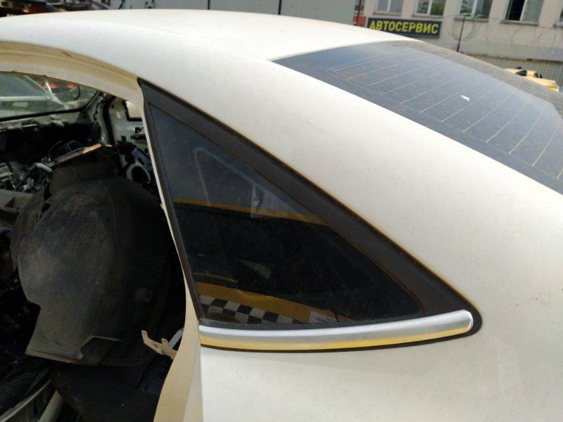 Стекло кузовное глухое левое Ford Mondeo 4 (2007-2014) СЕДАН заднее (б/у)