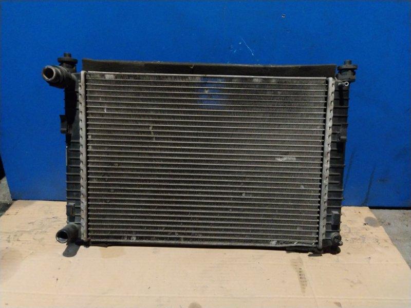 Радиатор охлаждения (основной) Ford Fiesta 2001-2008 1299 БЕНЗИН (б/у)