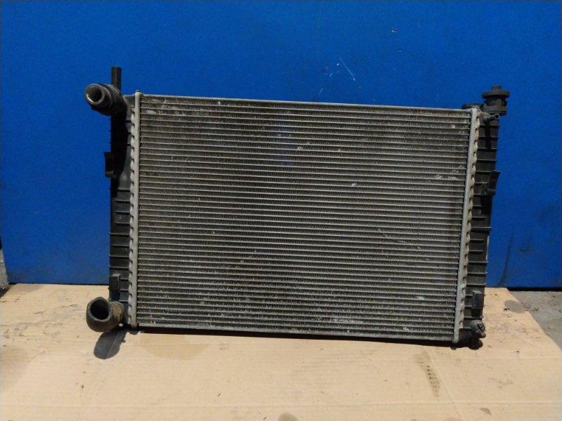 Радиатор охлаждения (основной) Ford Fiesta 2001-2008 1.4 ДИЗЕЛЬ (б/у)