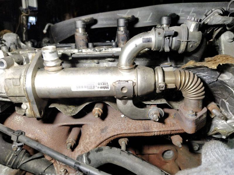 Радиатор (теплообменник) egr Ford Galaxy 2006-2015 (б/у)