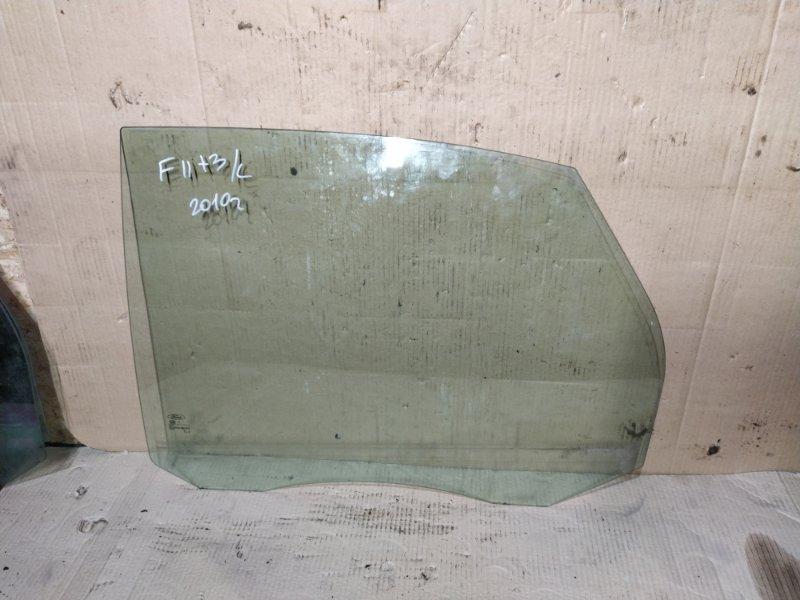 Стекло двери задней Ford Focus 2 2008-2011 левое (б/у)
