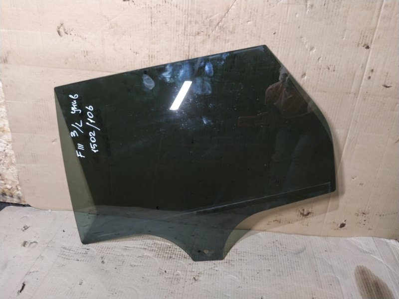 Стекло двери задней Ford Focus 3 (2011>) левое (б/у)