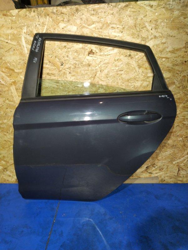 Дверь задняя левая Ford Fiesta (2008-2012) (б/у)