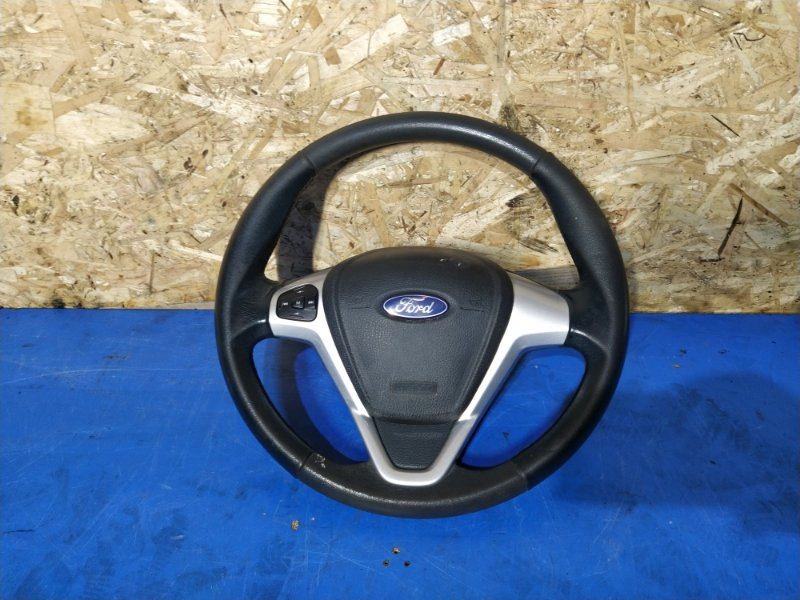 Рулевое колесо для air bag (без air bag) Ford Fiesta (2008-2012) (б/у)