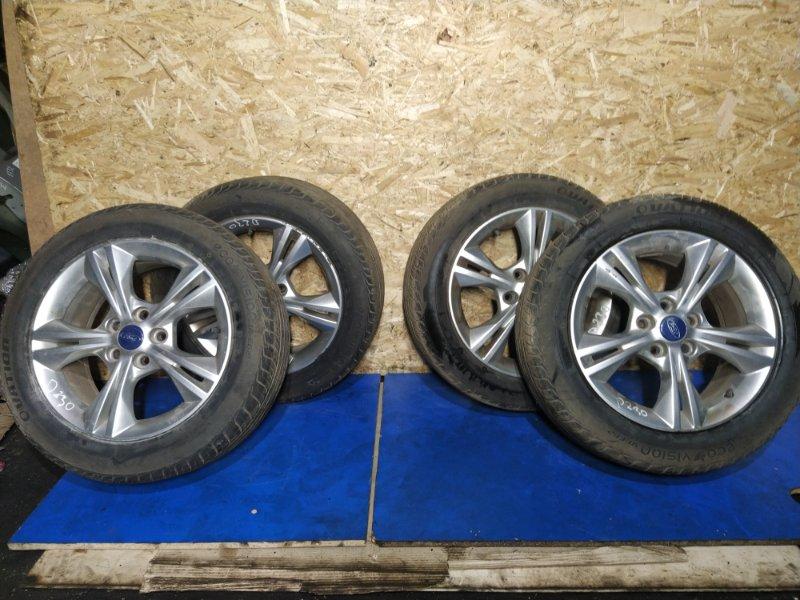 Диск с резиной r16 Ford Focus 3 (2011>) ХЭТЧБЕК 1.6 БЕНЗИН 2011 (б/у)