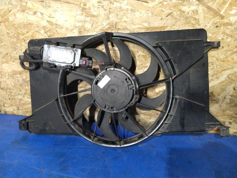 Вентилятор радиатора (в сборе) Ford Focus 3 (2011>) ХЭТЧБЕК 1.6 БЕНЗИН 2011 (б/у)