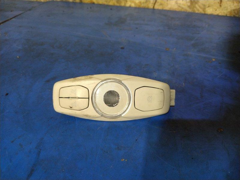 Плафон салонный Ford Focus 3 (2011>) ХЭТЧБЕК 1.6 БЕНЗИН 2011 передний (б/у)