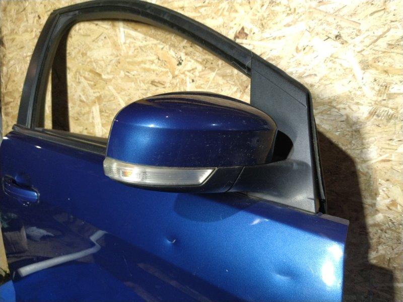 Зеркало правое (электрическое) Ford Focus 2 2008-2011 ХЭТЧБЕК 1.8L DURATEC-HE PFI (125PS 2008 (б/у)