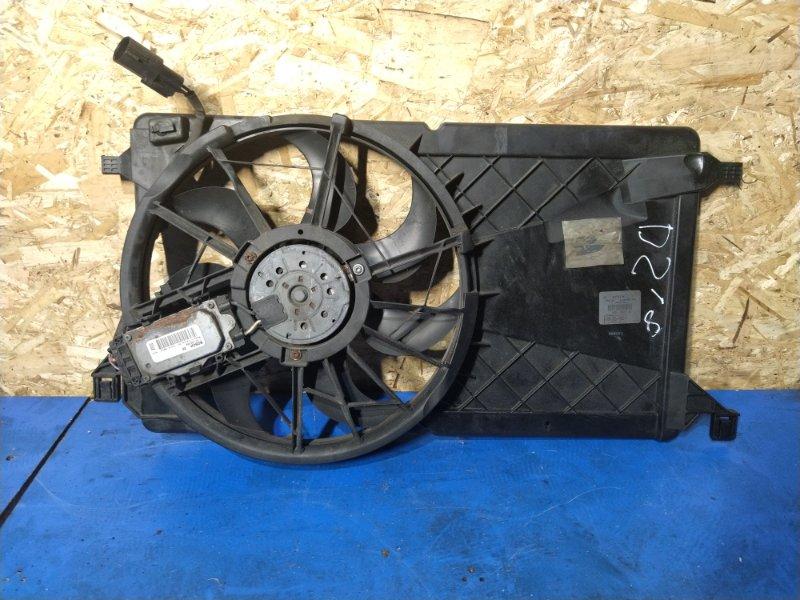 Вентилятор радиатора (в сборе) Ford Focus 2 2008-2011 ХЭТЧБЕК 1.8L DURATEC-HE PFI (125PS 2008 (б/у)