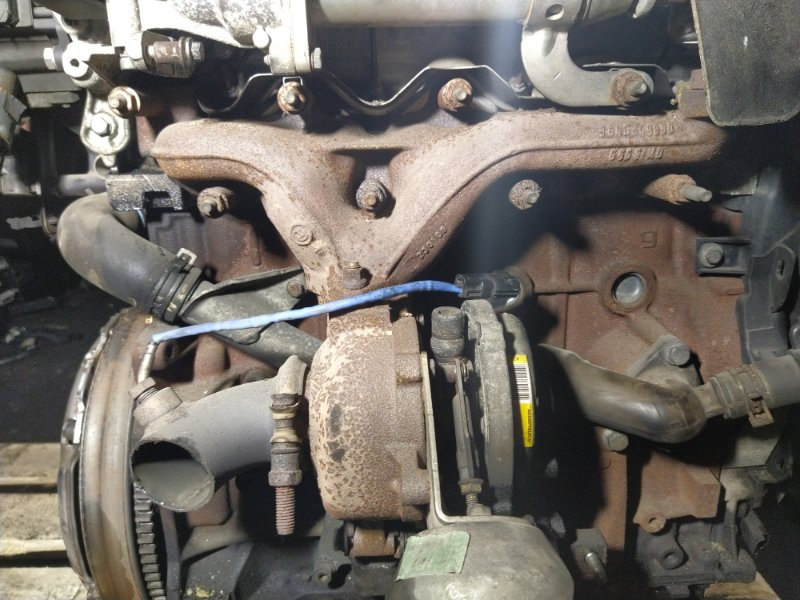 Турбокомпрессор (турбина) Ford Mondeo 4 (2007-2014) ХЭТЧБЕК 2.0L DURATORQ-TDCI (143PS) - DW 2008 (б/у)