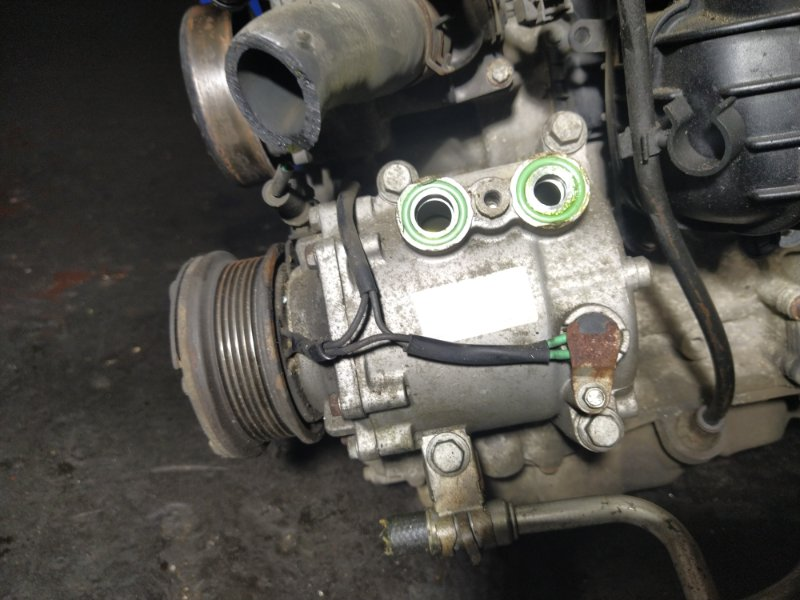 Компрессор кондиционера Ford Mondeo 3 (2000-2007) (б/у)
