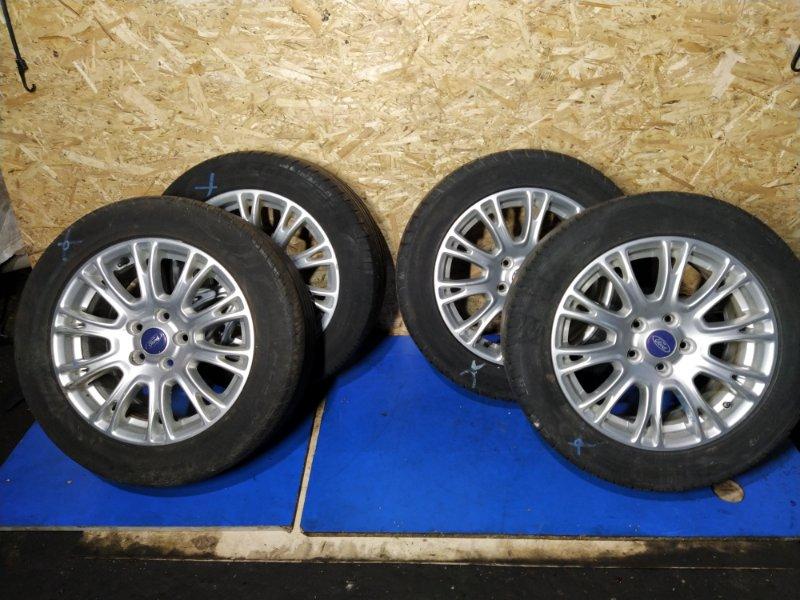 Диск с резиной r16 Ford Focus 3 (2011>) ХЭТЧБЕК 1.6L DURATEC TI-VCT (123PS) 2012 (б/у)