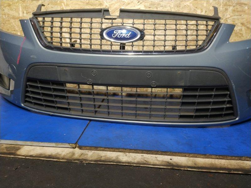 Решетка в бампер центральная Ford Mondeo 4 (2007-2014) ХЭТЧБЕК 2.0L DURATORQ-TDCI (143PS) - DW 2008 передняя (б/у)