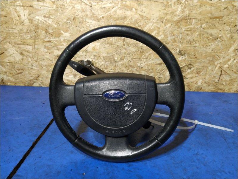 Рулевое колесо для air bag (без air bag) Ford Fusion 2001-2012 ХЭТЧБЕК 1.6L ZETEC-S/DURATEC EFI (100PS) 03/2004 (б/у)
