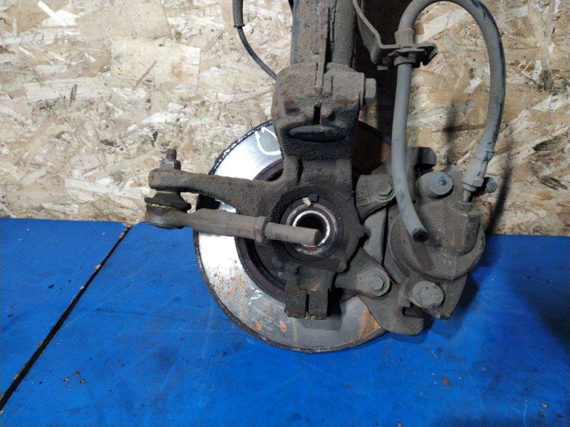 Кулак поворотный передний левый Ford Fusion 2001-2012 ХЭТЧБЕК 1.4L DURATEC 16V EFI DOHC (75/80PS) 2009 (б/у)