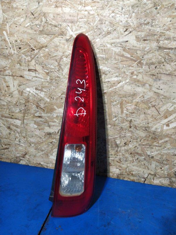 Фонарь задний правый Ford Fusion 2001-2012 ХЭТЧБЕК 1.4L DURATEC 16V EFI DOHC (75/80PS) 2009 (б/у)