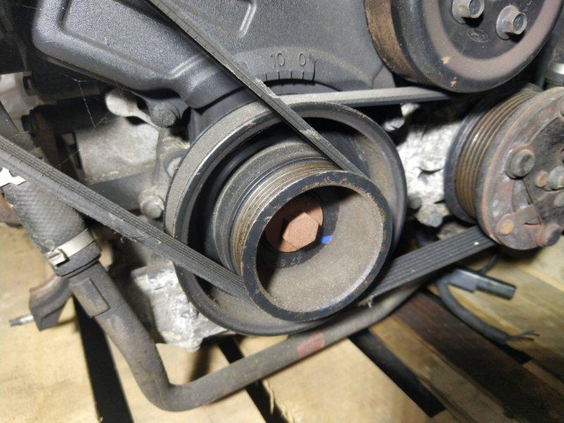 Шкив коленвала Ford Fusion 2001-2012 ХЭТЧБЕК 1.6L ZETEC-S/DURATEC EFI (100PS) 03/2004 (б/у)