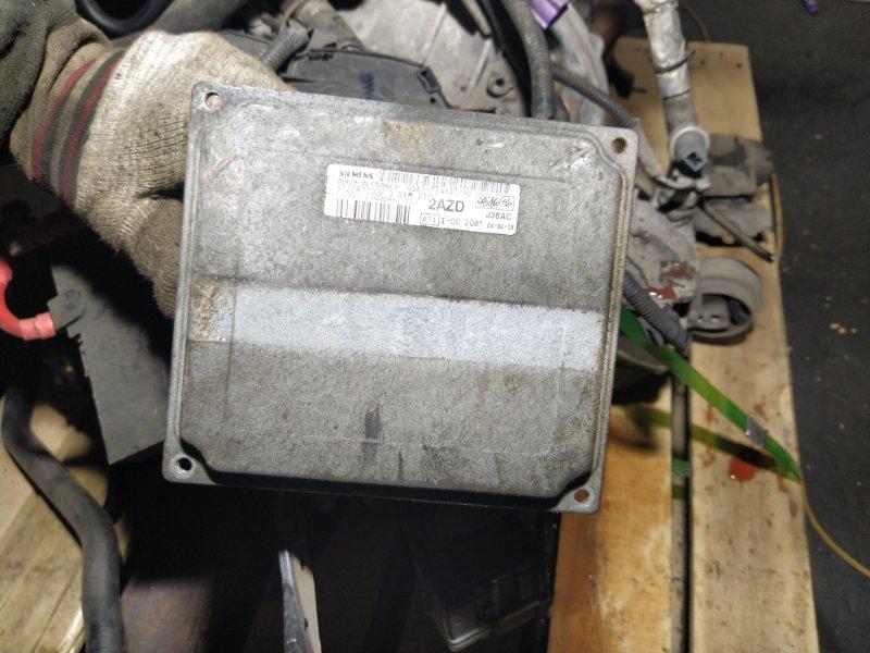 Блок управления двигателем Ford Fusion 2001-2012 ХЭТЧБЕК 1.6L ZETEC-S/DURATEC EFI (100PS) 03/2004 (б/у)