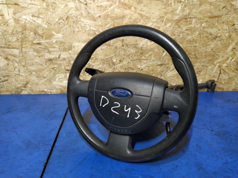 Рулевое колесо для air bag (без air bag) Ford Fusion 2001-2012 ХЭТЧБЕК 1.4L DURATEC 16V EFI DOHC (75/80PS) 2009 (б/у)