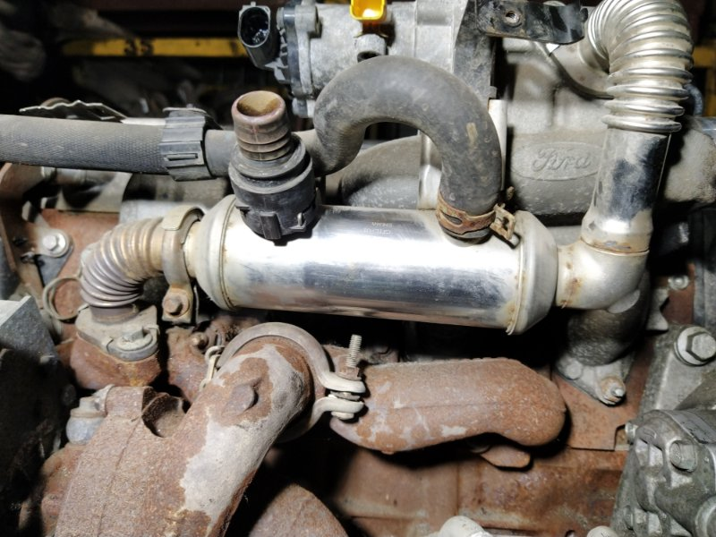 Радиатор (теплообменник) egr Ford S-Max 2006- 1.8L DURATORQ-TDCI (125PS) 02.2008 (б/у)