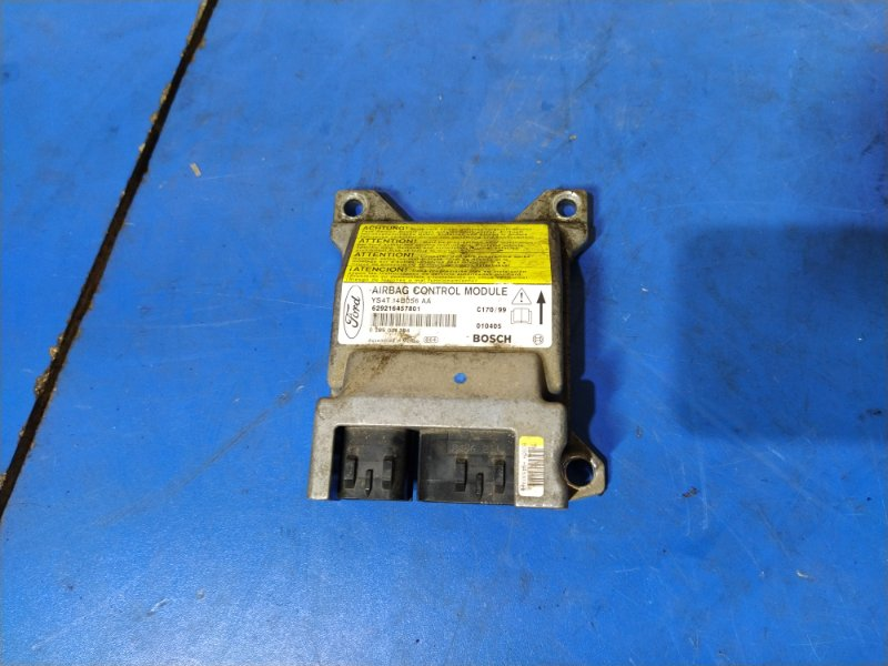 Блок управления air bag Ford Focus 1 (1998-2005) СЕДАН 1.6L ZETEC-E EFI (100 Л.С.) 2001 (б/у)