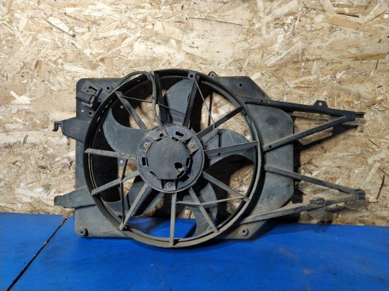 Вентилятор радиатора (в сборе) Ford Focus 1 (1998-2005) СЕДАН 1.6L ZETEC-E EFI (100 Л.С.) 2001 (б/у)