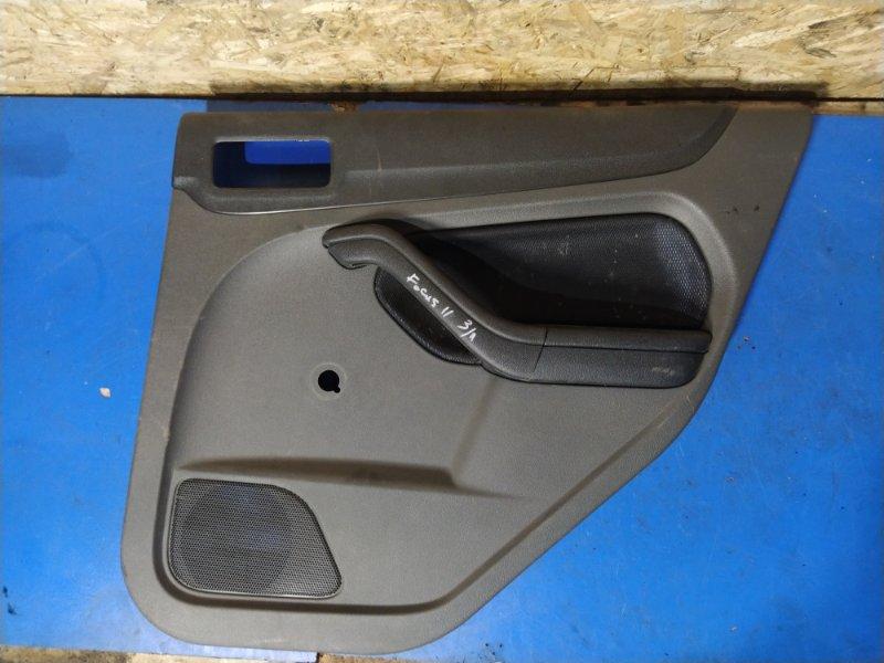 Обшивка двери задней правой Ford Focus 2 2004-2008 ХЭТЧБЕК (б/у)