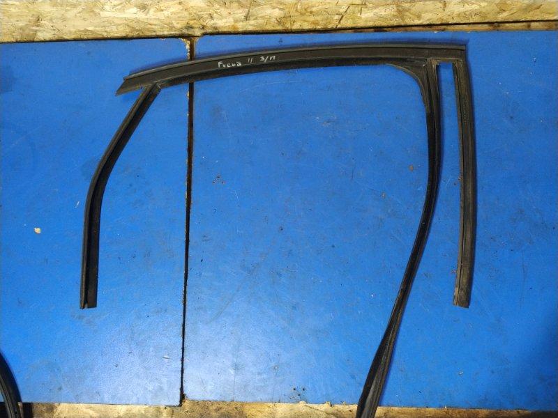 Направляющая стекла двери Ford Focus 2 2004-2008 ХЭТЧБЕК задняя правая (б/у)