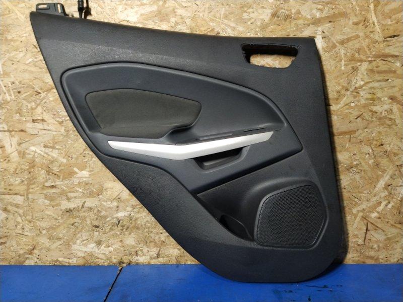 Обшивка двери задней левой Ford Ecosport 2013> (б/у)