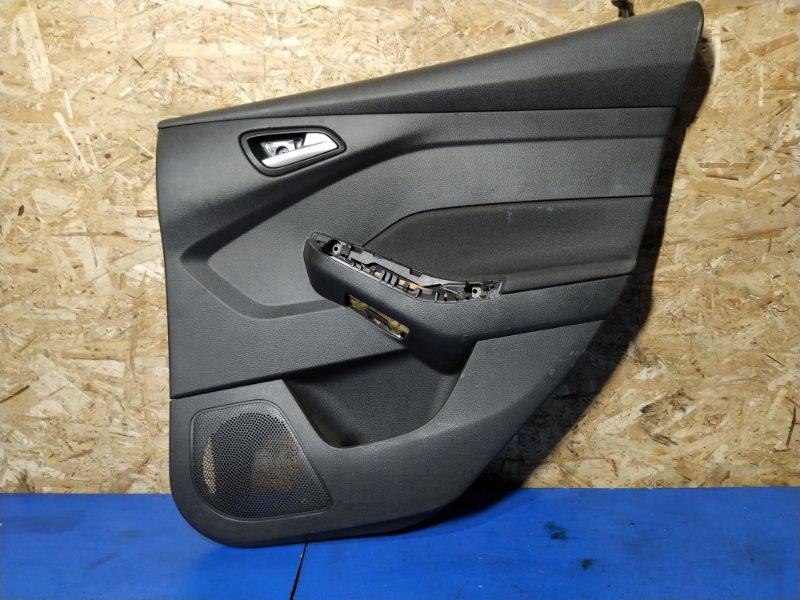 Обшивка двери задней правой Ford Focus 3 (2014>) (б/у)
