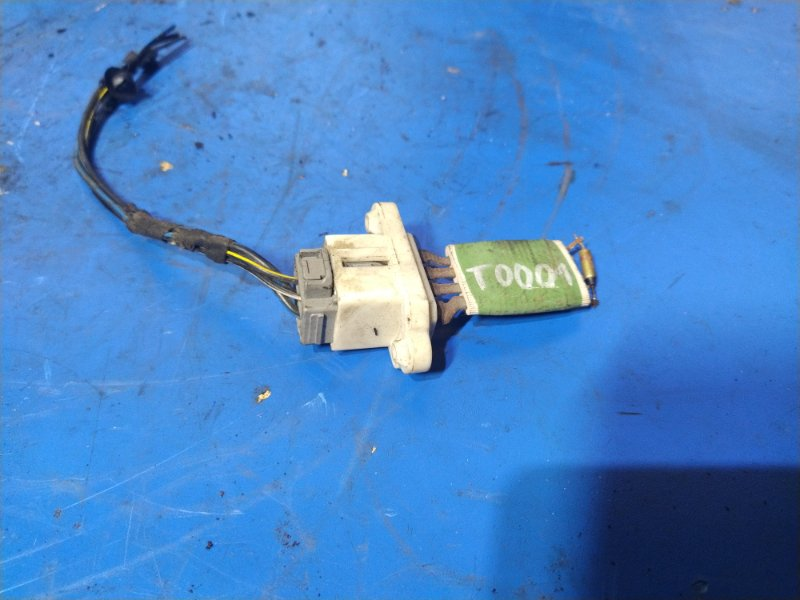 Резистор отопителя Ford Fiesta (2001-2008) (б/у)