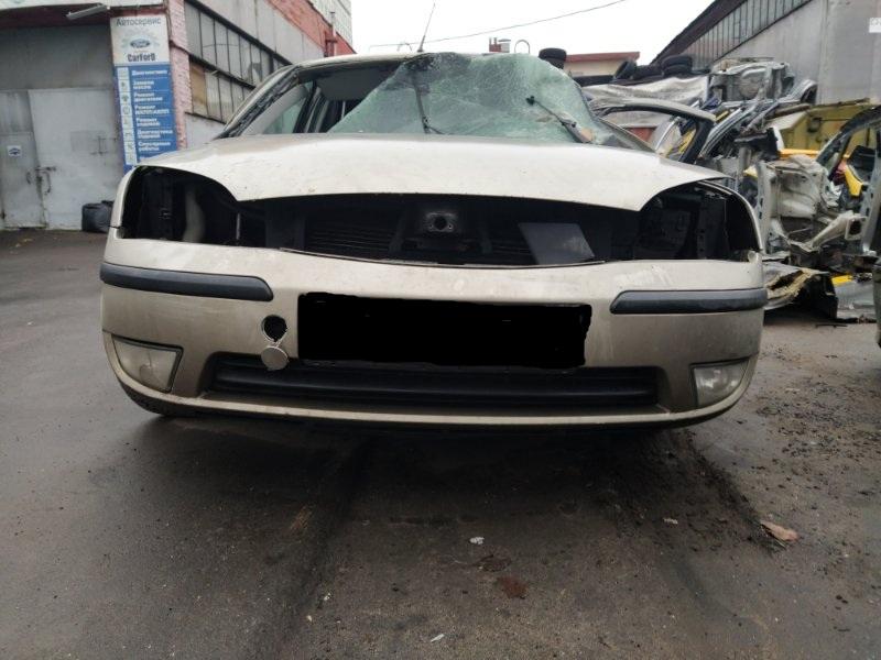 Бампер передний Ford Mondeo 3 (2000-2007) ХЭТЧБЕК 2.0L DURATEC HE SEFI (145PS) 2003 верхний (б/у)