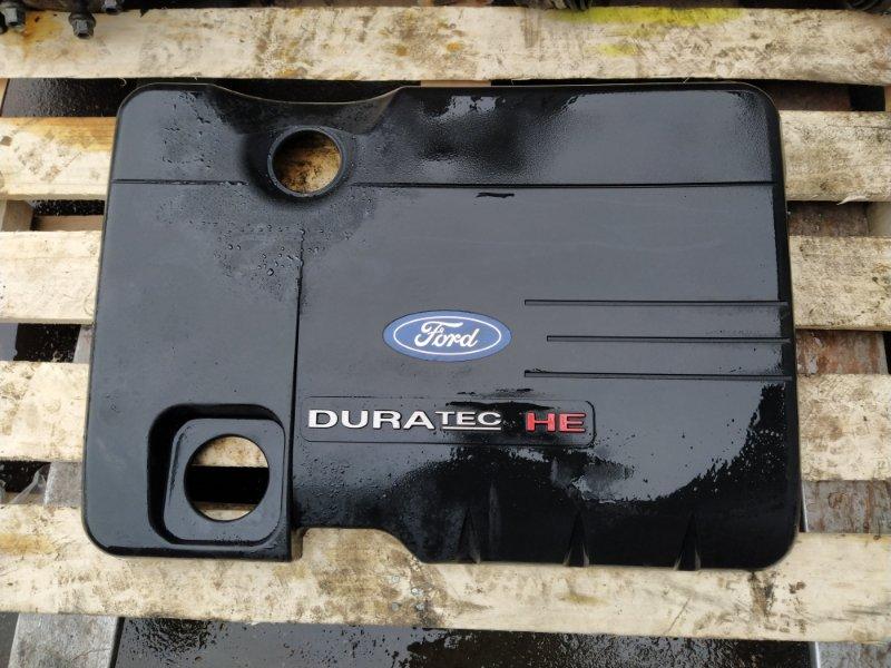 Накладка двигателя декоративная Ford Mondeo 3 (2000-2007) ХЭТЧБЕК 2.0L DURATEC HE SEFI (145PS) 2003 (б/у)