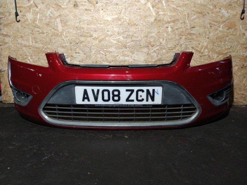 Бампер передний Ford Focus 2 2008-2011 верхний (б/у)