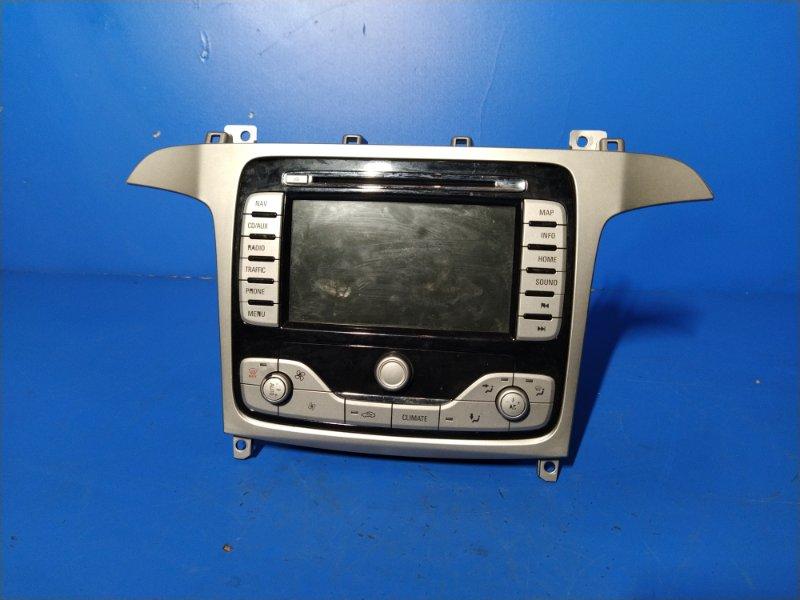 Магнитола с навигацией Ford S-Max 2006- УНИВЕРСАЛ 2.0L DURATORQ-TDCI (143PS) - DW 2009 (б/у)