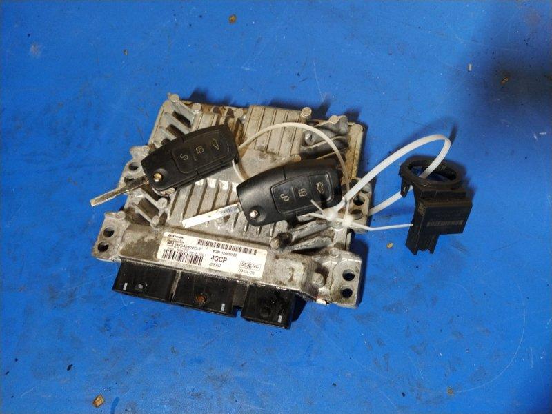 Блок управления двигателем Ford S-Max 2006- УНИВЕРСАЛ 2.0L DURATORQ-TDCI (143PS) - DW 2009 (б/у)