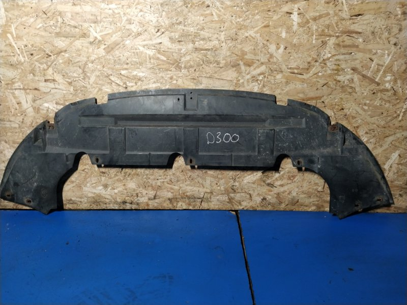 Защита переднего бампера Ford C-Max 2007-2010 ХЭТЧБЕК 1.8L DURATEC-HE PFI (125PS) 2008 нижняя (б/у)