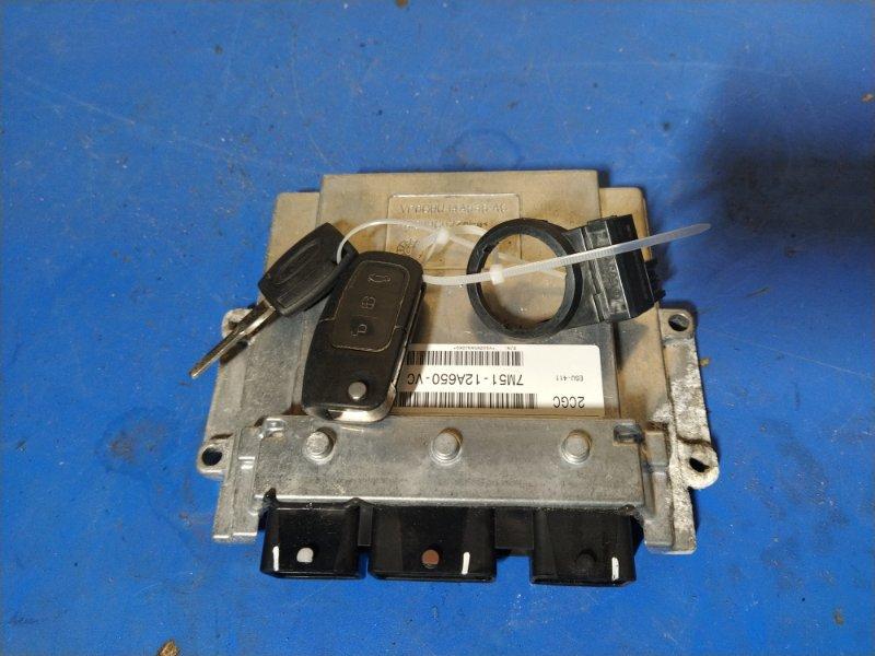 Блок управления двигателем Ford C-Max 2007-2010 ХЭТЧБЕК 1.8L DURATEC-HE PFI (125PS) 2008 (б/у)