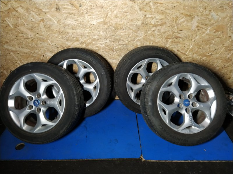 Диск литой с резиной r16 Ford C-Max 2007-2010 ХЭТЧБЕК 1.8L DURATEC-HE PFI (125PS) 2008 (б/у)