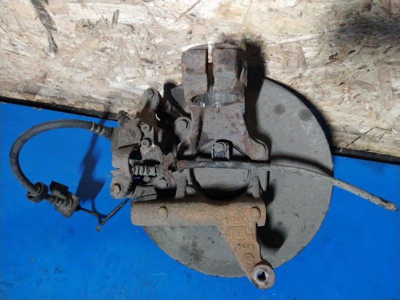 Кулак поворотный задний левый Ford Mondeo 3 (2000-2007) ХЭТЧБЕК 2.0L DURATEC HE SEFI (145PS) 2003 (б/у)
