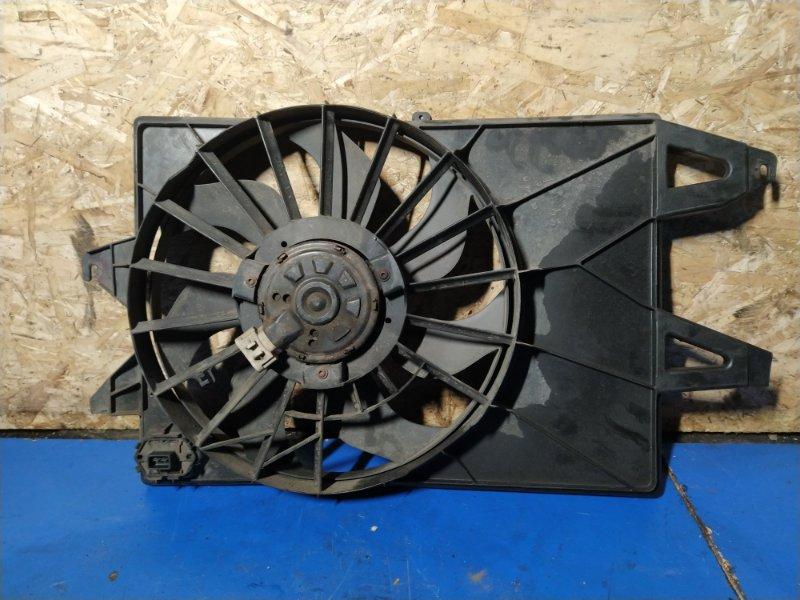 Вентилятор радиатора (в сборе) Ford Mondeo 3 (2000-2007) ХЭТЧБЕК 2.0L DURATEC HE SEFI (145PS) 2003 (б/у)