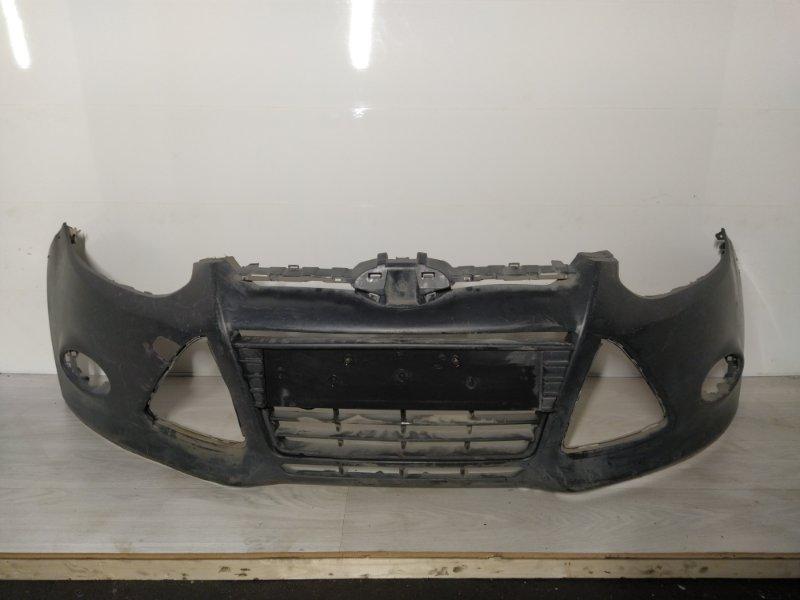 Бампер передний Ford Focus 3 (2011>) верхний (б/у)