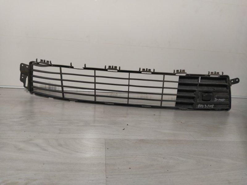 Решетка в бампер центральная нижняя Ford S-Max 2006- (б/у)