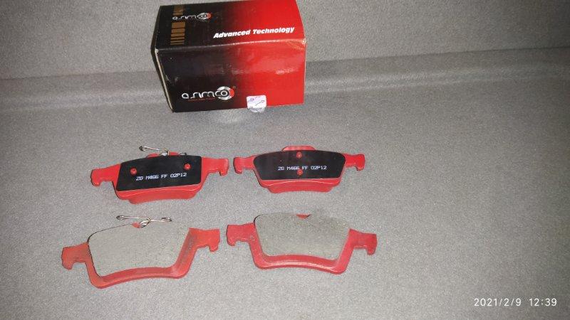 Тормозные колодки Ford Focus 3 (2011>) заднее
