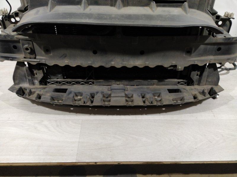 Воздуховод радиатора Ford Fiesta (2008-2012) нижний (б/у)