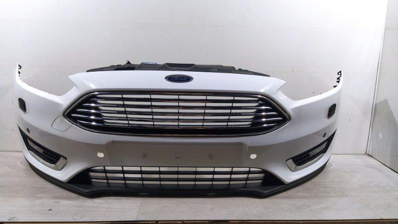 Бампер передний Ford Focus 3 (2014>) передний (б/у)